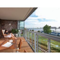 上海麦韦德有框单扇折叠全景窗阳台全敞开窗江景更漂亮