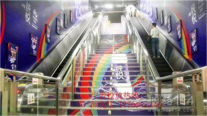 杭州地铁通道广告创意发布开始招商啦