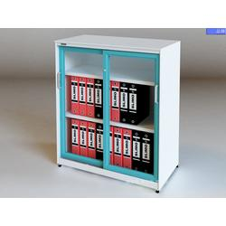 东莞WEBBER档案柜厂家定做玻璃门文件柜