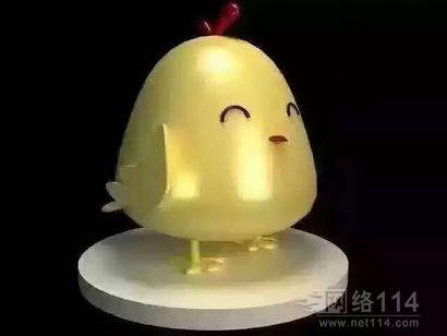 鸡年卡通雕塑纤维卡通鸡公仔制作