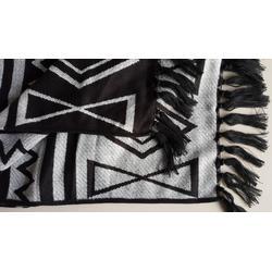 色织提花腈纶毯