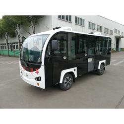 陇南观光14座电动车,封闭式锂电池观光车