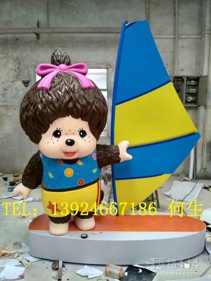 香港纤维品牌形象立体公仔模型定做