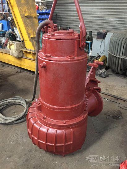 长兴岛污水厂水泵完工防锈处理,滨特尔电机维修