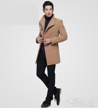 韩版男大衣设计定制