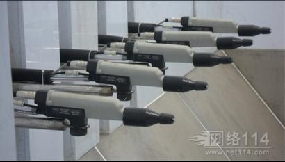 依路达自动喷枪电缆线,AG-400喷粉枪自动电缆连接线