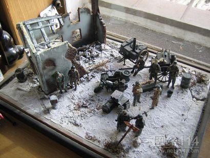 战争场景复原模型/古战场场景模型/淮海战役场景沙盘