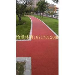 上海健身步道塑胶施工厂家