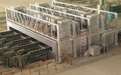 Coating drying equipment system