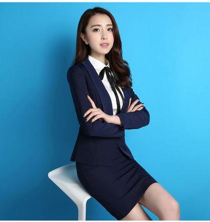 高档韩版女西装+职业装