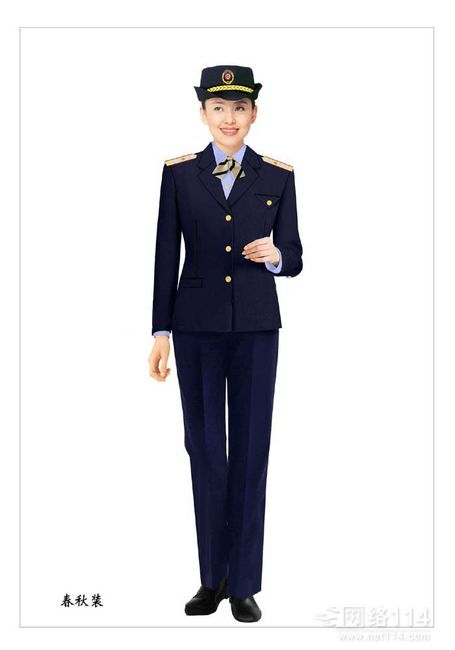 高端保安服设计