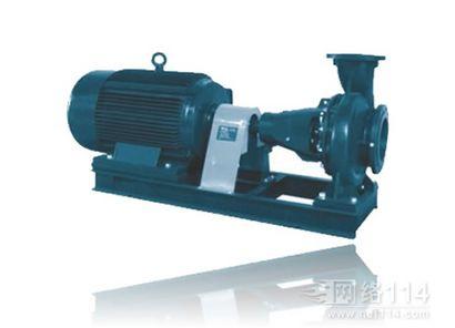 广东XA系列卧式单级单吸离心泵 蜗壳式增压泵 循环水泵厂家