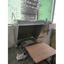 深圳溶锡炉回流焊烟尘异味活性炭过滤器废气塔安装