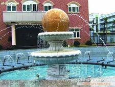 吉安米黄玉风水球厂家/吉安风水球加工