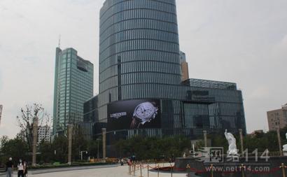 杭州国大城市广场的LED广告是哪家的