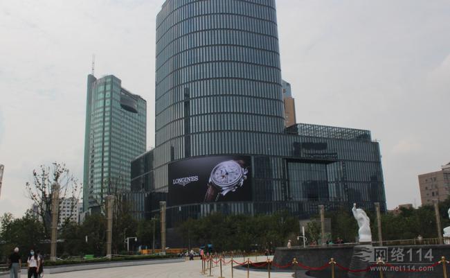 杭州��大城市�V�龅�LED�V告是哪家的