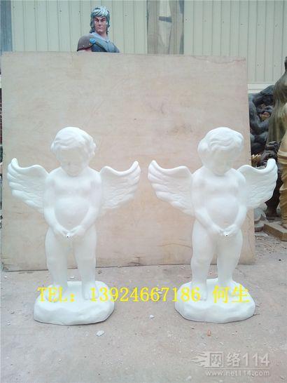 吉祥物天使雕塑欧式天使人像