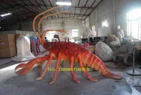 玻璃钢仿真海鲜造型雕塑大型螃蟹龙虾模型定做查看原图(点击放大)