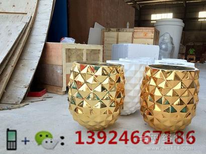 深圳玻璃钢花盆,深圳景观雕塑