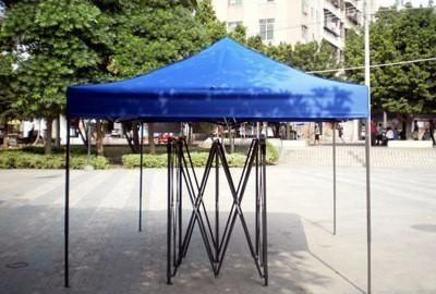 蓝色支架帐篷 山东帐篷厂
