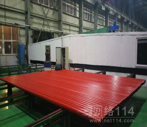 上海固宇汞灯紫外固化钢管喷漆机