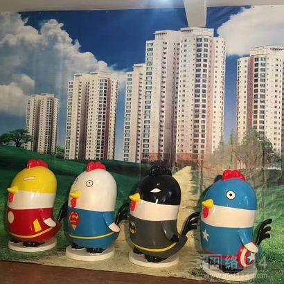 港粤纤维各种卡通雕塑制作