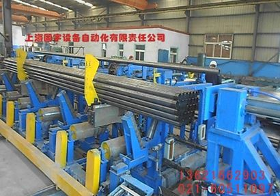 Steel tube palletizer