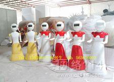 送餐机器人外壳  玻璃钢餐饮机器人外壳价格