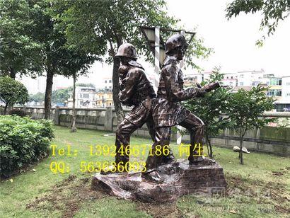 深圳玻璃钢人像雕塑