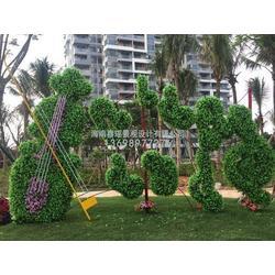 海口绿植雕塑,海口仿真植物树