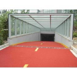彩色透水路面施工透水混凝土道路施工透水路面混凝土施工防滑