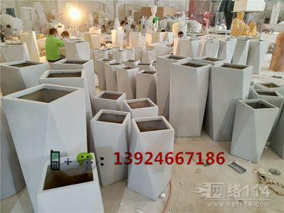 澳门纤维花缸模型制作商场美陈花钵供应厂家