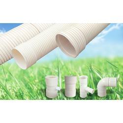 PVC-U双壁波纹管管道,联塑管东莞总代理