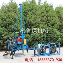 直销鲁探30型山地钻机石油物探钻机小型气动潜孔钻机