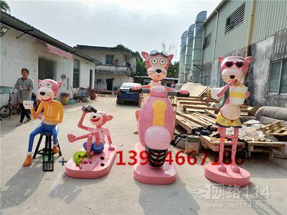 东莞万达广场形象卡通公仔定做工厂商场美陈公仔