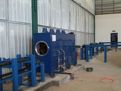 Steel pipe anticorrosive coating equipment