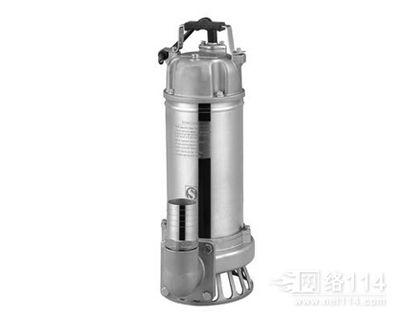 广东全不锈钢潜水排污泵 WF无堵塞污水泵