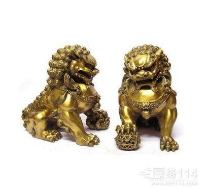 铜狮子,精密铸造铜狮
