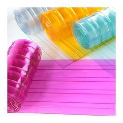 沈阳优质水晶原料PVC软门帘生产安装厂家