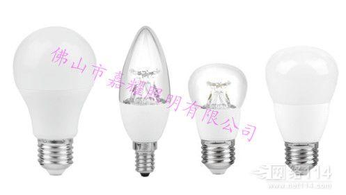 朗德万斯CLP40 6W/827 E27可调光透明/磨砂球泡