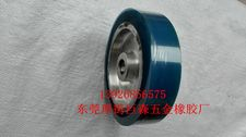 砂带机橡胶抛光轮1,蓝色砂带机橡胶抛光轮